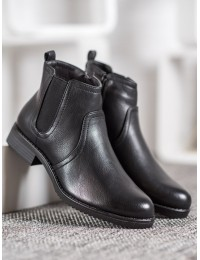 Juodi klasikiniai odiniai batai - S1818B