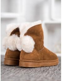 Jaukūs mieli batai su kailiuku - BK901C
