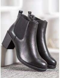 Juodi klasikiniai patogūs batai - A8052-1B