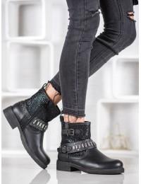 Origanalūs juodi batai - 100-900B