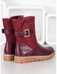 Bordo spalvos patogūs batai - BM-9063WI