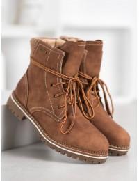 Šilti rudi žieminiai batai - 025-PA-C