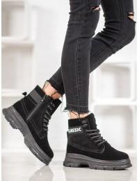 Madingi šilti batai su platforma - BK910B
