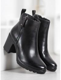Klasikiniai juodi elegantiški aulinukai - A5506B