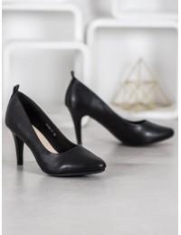 Elegantiški juodos spalvos aukštakulniai - S9042-1P-B