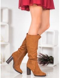 Elegantšiki madingos CAMEL spalvos batai - QQ-08C