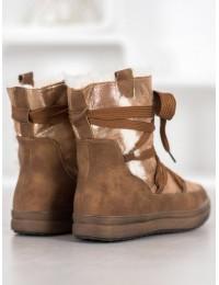 Šilti žieminiai batai su kailiuku - 559-PA-C