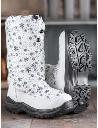 Balti lengvi ypač patogūs ir šilti batai - H52-2W