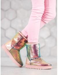 Išskirtiniai blizgūs šilti batai - BL175CH