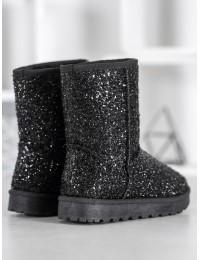 Išskirtiniai blizgūs šilti batai - BL177B