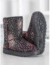 Išskirtiniai blizgūs šilti batai - BL177CH