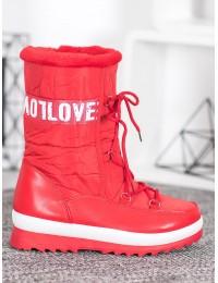 Šilti lengvi žieminiai batai LOVE - 608-3R