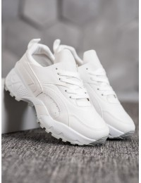 Balti aukštos kokybės madingi laisvalaikio/ sportinio stiliaus batai - ANN20-14457W