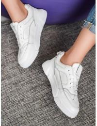 Baltos spalvos MCKEYLOR batai su platforma - ANN20-14450W