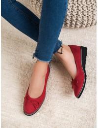 Elegantiški raudonos spalvos bateliai - FL327R