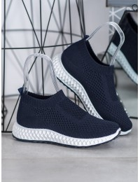 Mėlynos spalvos madingi lengvi aukštos kokybės sportiniai batai - TF-23N