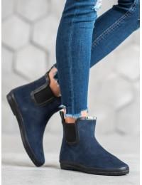 Stilingi mėlyni guminiai batai - K1771601MAR