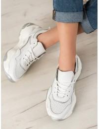 Natūralios odos aukštos kokybės sportinio stiliaus batai - FT-62W/S