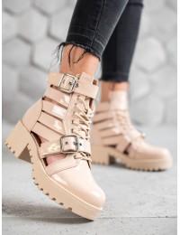 Išskirtiniai aukštos kokybės lakuotos odos batai - NS109BE