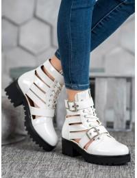 Išskirtiniai aukštos kokybės lakuotos odos batai - NS109W