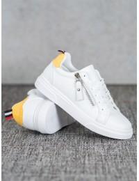 Balti stilingi aukštos kokybės laisvalaikio stiliaus bateliai - AB706W/Y