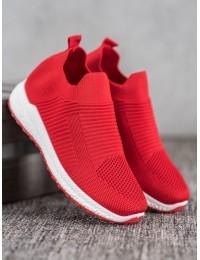 Lengvi raudonos spalvos patogūs batai - 205R