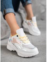 Balti stilingi batai su platforma - BO-537W/Y