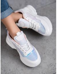 Madingi baltos spalvos batai kas dienai - AB680W/P