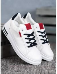 Balti aukštos kokybės sportinio stiliaus batai - AB654W/BL/R