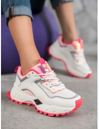 Originalūs madingi SNEAKERS modelio batai su platforma - RAL-69RO