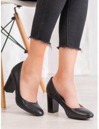 Klasikinio stiliaus juodi elegantiški bateliai - XY20-10529B