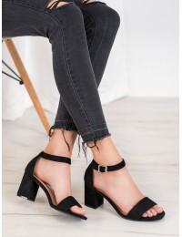 Klasikinio stiliaus juodos spalvos basutės - YQE20-17058B