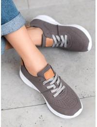 Laisvalaikio stiliaus pilki batai - DP067/18G