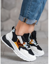 Madingi sneakers batai su blizgiomis betalėmis - TS-509B