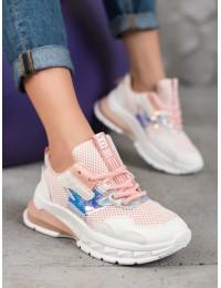 Išskirtiniai rožiniai sneakers batai - TS-509P