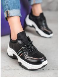 Stilingi juodi laisvalaikio batai - BO-189B