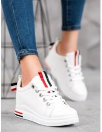 Balti stilingi batai su platforma - XF823-57W