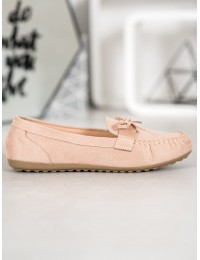 Stilingi patogūs smėlio spalvos zomšiniai bateliai - 2020-3BE