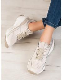 Natūralios odos sportinio stiliaus batai - FT-72BE/CH