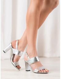 Stilingos puošnios elegantiškos aukštakulnės basutės - FL142B-S