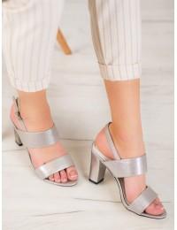 Stilingos puošnios elegantiškos aukštakulnės basutės - FL142C-T