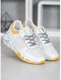 Balti stilingi sportinio stiliaus bateliai - YL-22Y