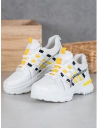 Madingi sportinio stiliaus batai su platforma - C9288BLA