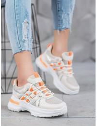 Madingi sportinio stiliaus batai su platforma - C9288G