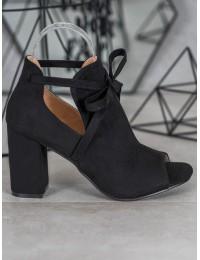 Madingi aukštos kokybės batai atviru priekiu - YQE20-1751B