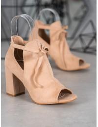 Madingi aukštos kokybės batai atviru priekiu - YQE20-1751BE