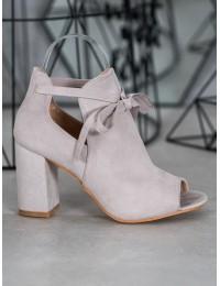Madingi aukštos kokybės batai atviru priekiu - YQE20-1751G
