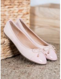 Puošnios rožinės spalvos balerinos - B2021P