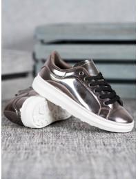 Stilingi žvilgūs batai su platforma - BN8163B