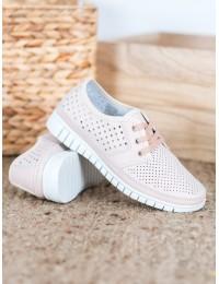 NUDE spalvos aukštos kokybės natūralios odos batai - K2019701NU